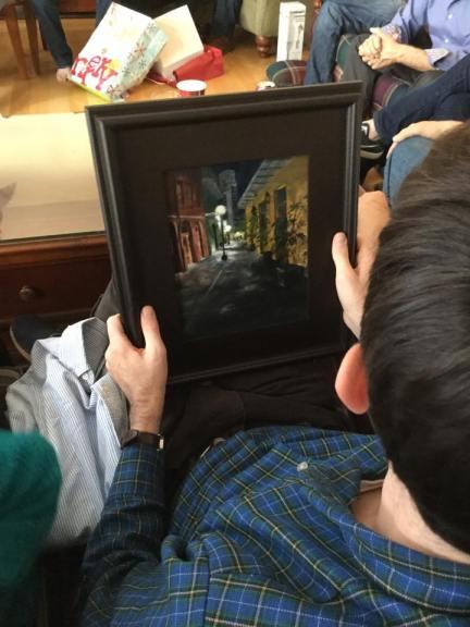 NOLA in a frame