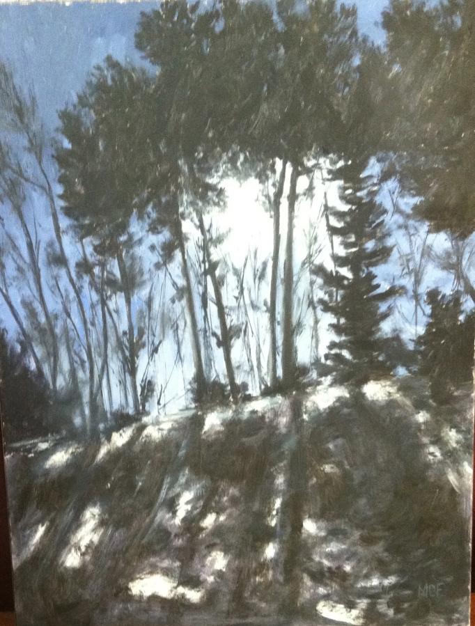 """Moonlit"" 16×12 OilPainting"
